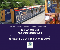 New Narrowboat Shares similar to Skylark